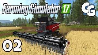 Farming Simulator 17 - Ep. 2 - Man on a (Harvesting) Mission - FS17 Gameplay