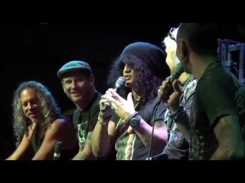 Kirk Hammett/Slash/Corey Taylor/John 5 talk Horror movies 4/11/15 (Part 1)