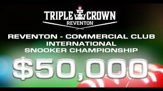 Reventon Commercial Club International Snooker 2019 SEMI Finals thumbnail