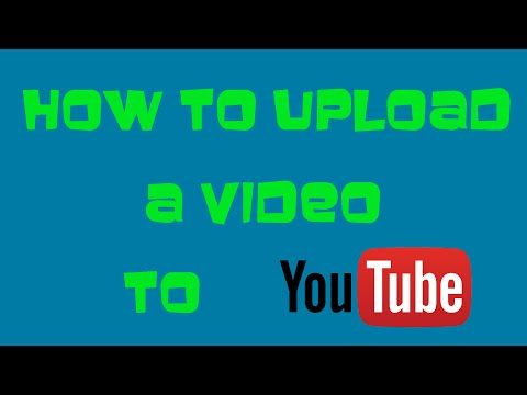 How to upload a video to YouTube (April 2016) Detailed Tutorial