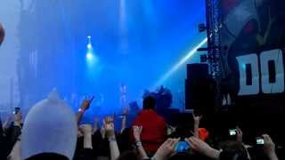 Download Festival 2013 - Slipknot intro + Disasterpiece HQ