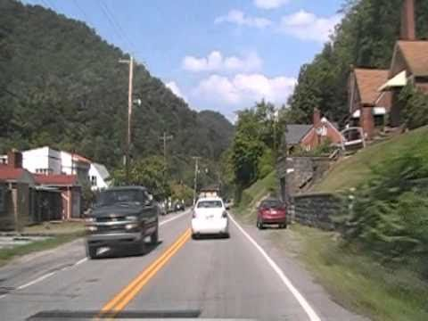 Iaeger West Virginia Sunday Drive.wmv