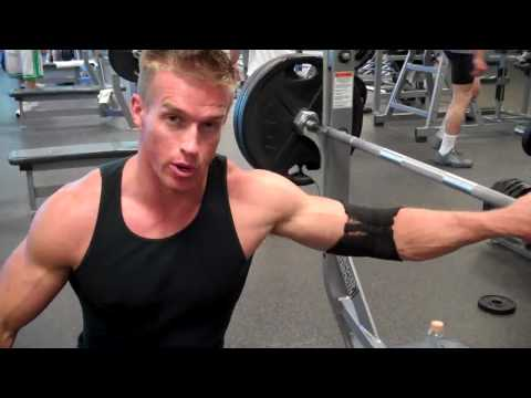 James Ellis & Tyler Sarry - Chest Workout