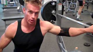 James Ellis & Tyler Sarry - Chest Workout