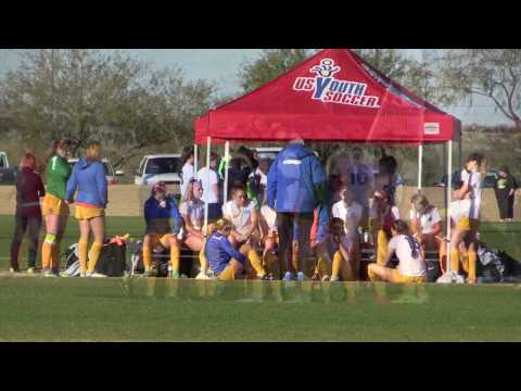 2017 ODP Region 4 Championships: Cal South vs Arizona