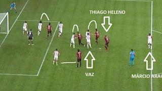 Rafael Vaz e Muralha precisam de banco! Flamengo não perde mas não soma 3 pontos! Complicado!