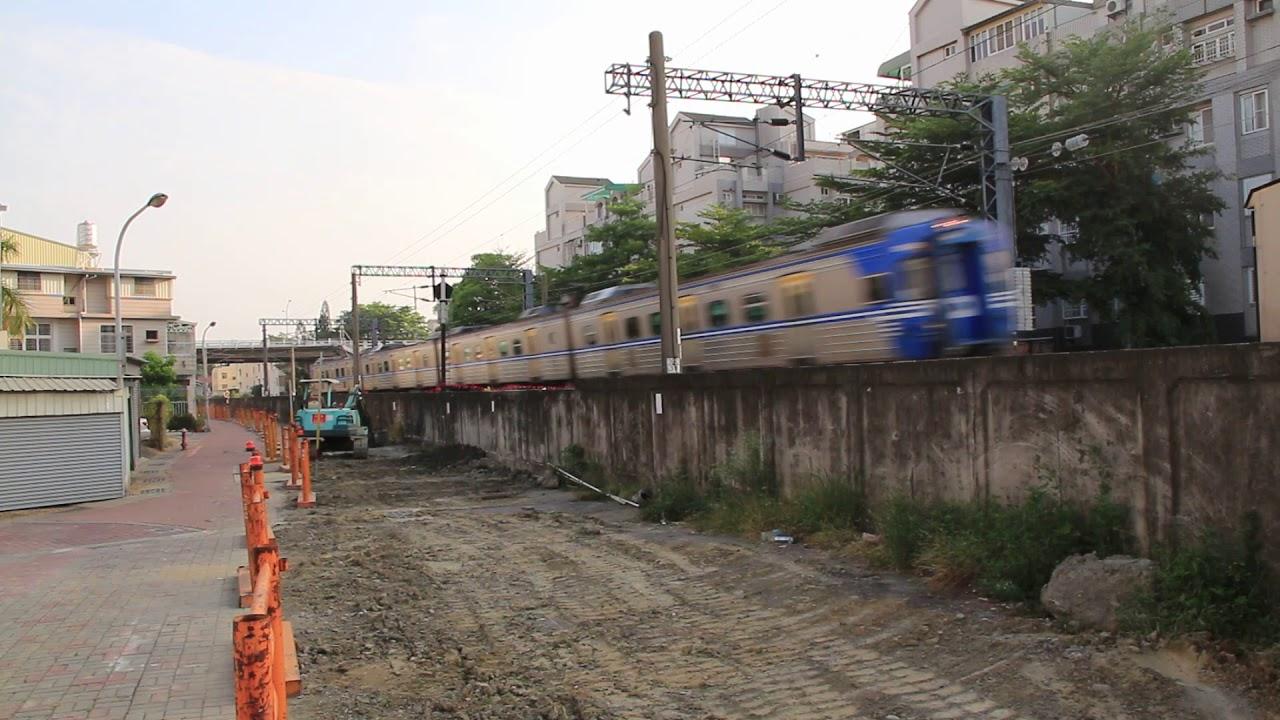 南鐵地下化施工路段 南臺南路段西側現況(107.06.01) - YouTube