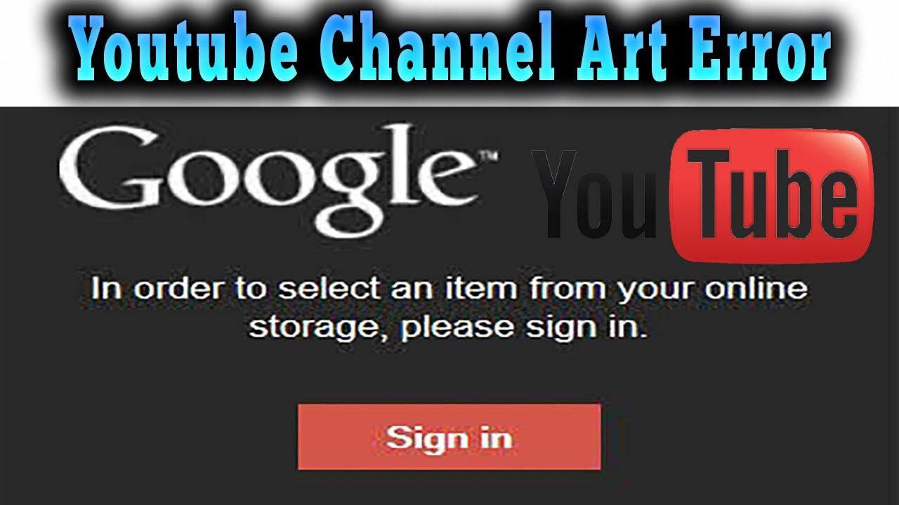 fix youtube error