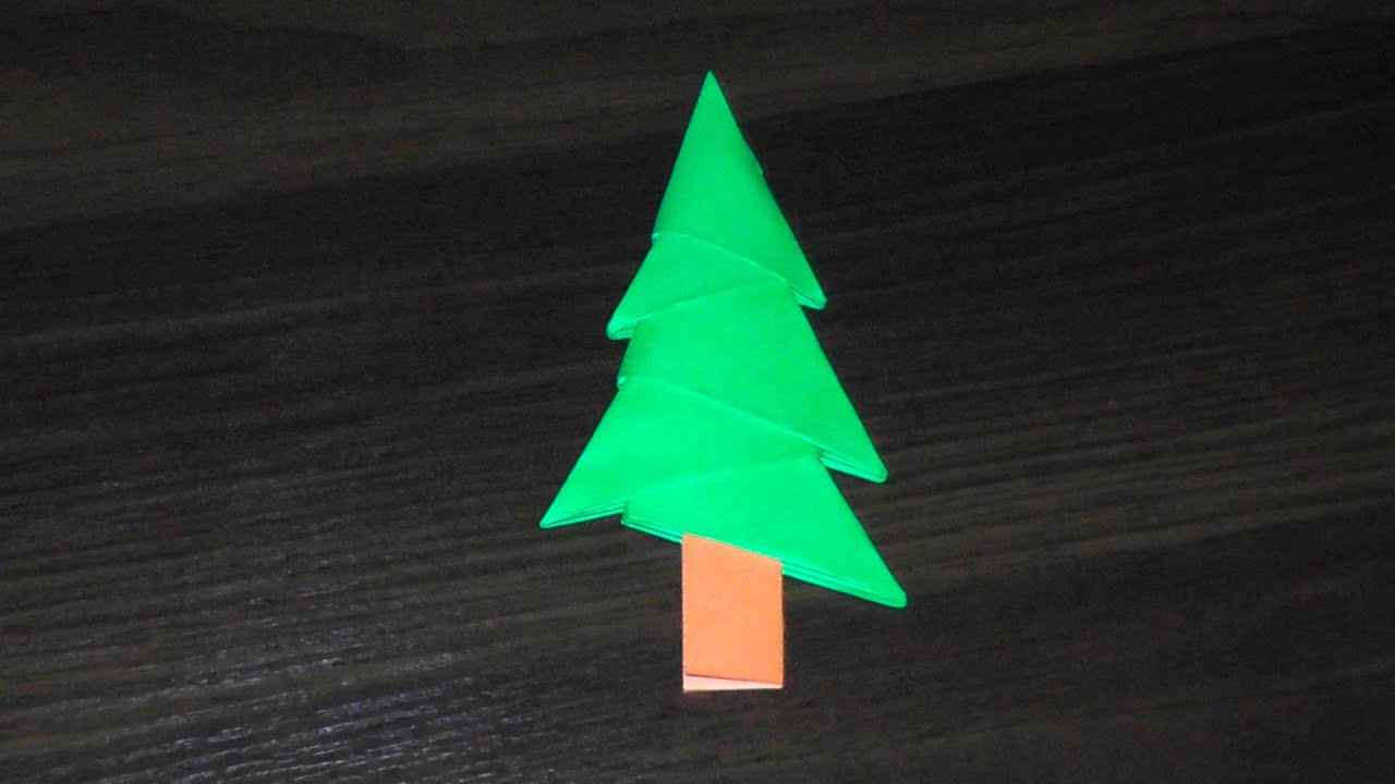 схемы новогоднего модульного оригами для дошкольников
