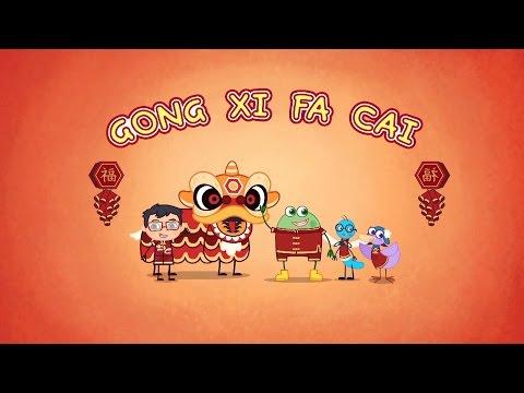 Gong Xi Gong Xi 恭喜发财 - | Songs for Kids | Hogie the Globehopper