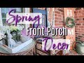 FRONT PORCH SPRING DECOR | DECORATE WITH ME