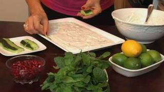 Arabic Yogurt & Cucumber With Mint Salad-how To Video