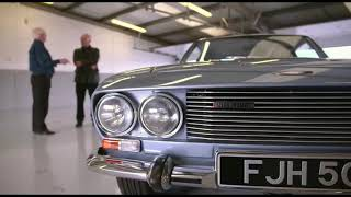 Lifesaver Walter Butterworth is re-united with Eric Morecambe's Jensen Interceptor