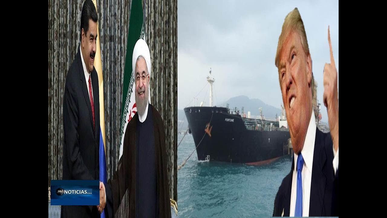 EEUU ORDENA LA INCAUTANCION DE BUQUES IRANIES QUE SE DIRIGEN A VENEZUELA