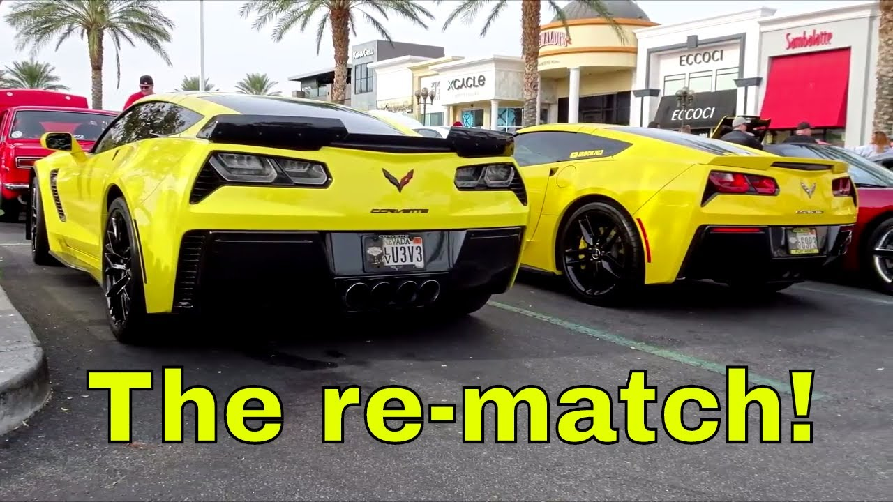 procharged C7 vs C7 Z06 the re match!