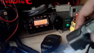 "Jayant ""Jayu"",VU2JAU Net-controlling India-Nepal Emergency Ham Radio Net with QSPs"