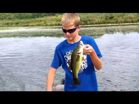 Top water fishing at shabbona lake youtube for Shabbona lake fishing report
