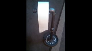 Diy Homemade Manly Toilet Paper Holder
