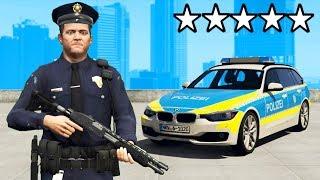 GTA 5 als POLIZEI spielen!