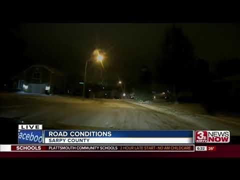 Sarpy Co. road conditions