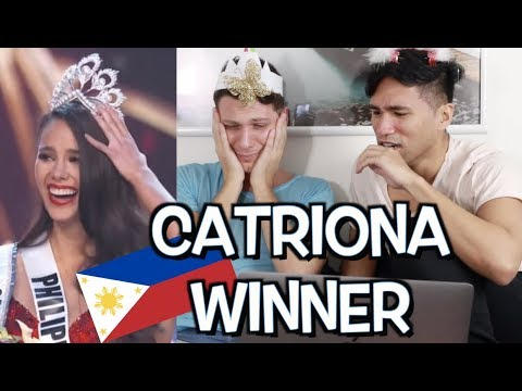 Catriona Gray WINS Miss Universe 2018! Congrats, Cat! 🎉 | Reaction