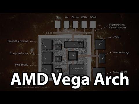 AMD Vega GPU Architecture Preview: Redesigned Memory Architecture
