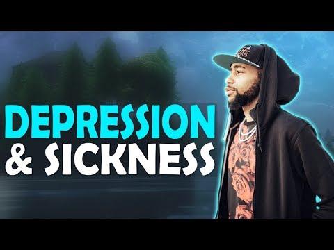 DAEQUAN - DEPRESSION & SICKNESS | HIGH KILL GAME - (Fortnite Battle Royale)