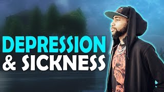 DAEQUAN - DEPRESSION & SICKNESS | HIGH KILL GAME - (Fortnite Battle Royale)
