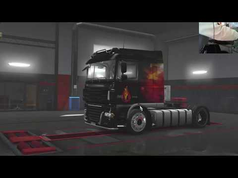 Euro Truck Simulator 2 - 5000 cavalli incontrollabili sul Daf ( Daf With 5000hp) LOGITECH G920