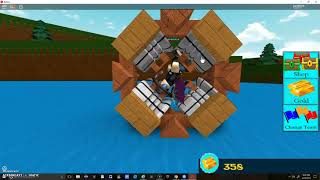 Roblox - Build a Boat for Treasure How to make a FLYING WHEEL