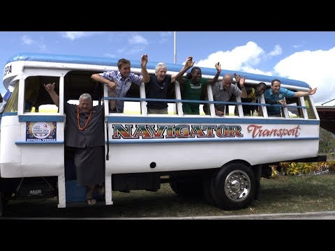 All aboard for the 2015 Samoa Commonwealth Youth Games