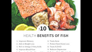 Top 10 Health Benefits of Eating Seafood & Seafish