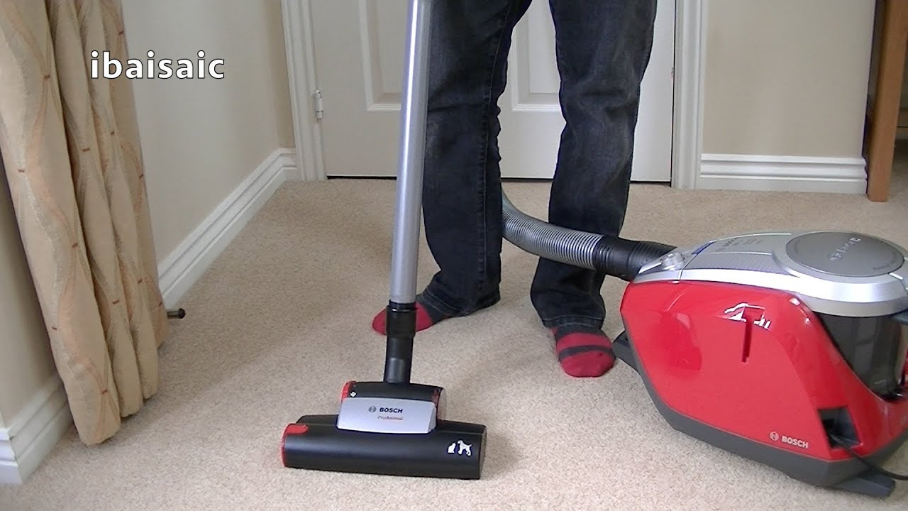 Bosch Gs50 Power Animal Bagless Vacuum Cleaner Unboxing First Look Youtube