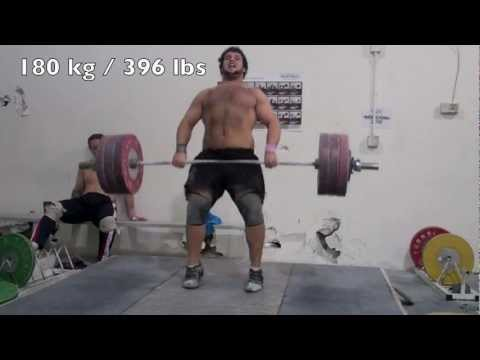Donny Shankle training at California Strength