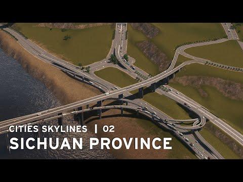 Messy Interchange - Cities Skylines: Sichuan Province - 02