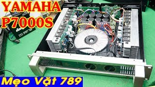 Cục đẩy YAMAHA P7000S chạy 32 sò nguồn đồng 3tr8 0399 774 789