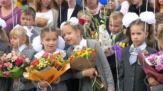 День знаний 1 сентября. Видеосъемка в школе №691   Детская видеосъемка в СПб