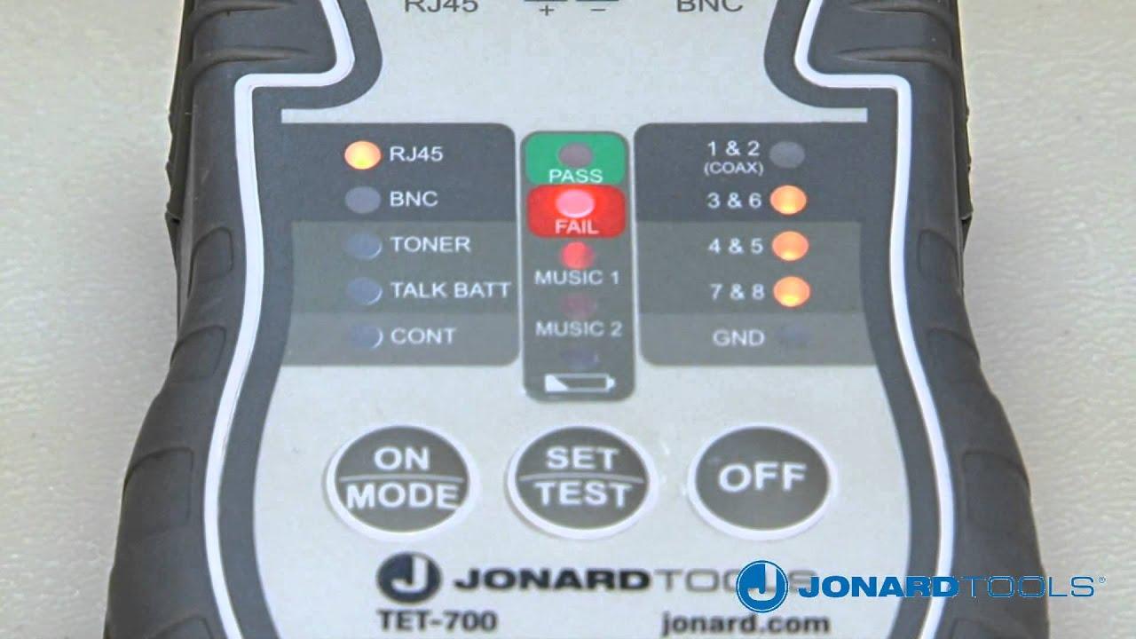 Multi Function Cable Tester Toner & Probe Kit TETP 900 - YouTube