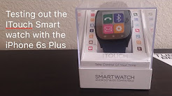 Review and Syncing my iTouch watch with the iPhone 6s Plus how does it perform
