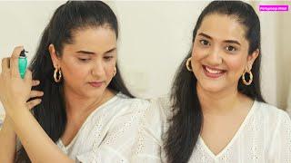 No Makeup Makeup Look   Zoom Call GRWM   Perkymegs Hindi