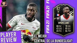 FIFA 21 82 RATED INFORM DAYOT UPAMECANO PLAYER REVIEW {DE LOS MEJORES DEFENSAS FRANCESES EN FIFA 21}