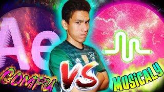 MUSICALLY VS PC | Imitando coreografías populares [Maxi]