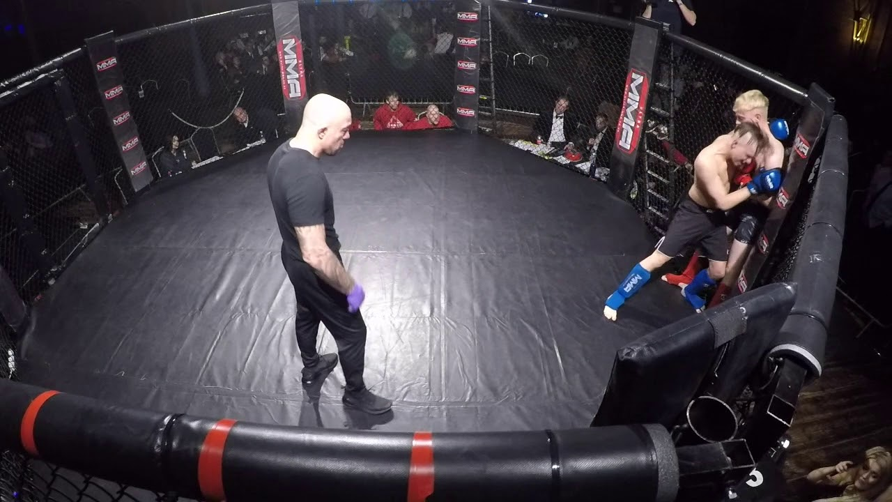 Ultra MMA | Derby | Cameron Hunter VS Leon Phillips