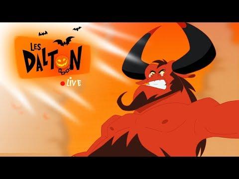 LES DALTON 🔴 LIVE  | La terreur du pénitencier | Halloween Compilation Full HD