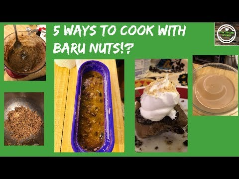 5 Ways to Cook With Baru Nuts!?