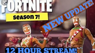 *LIVE* 12 HOUR STREAM!  NEW UPDATE v7.10! SUB GAMES! WAGERS! POP UP CUP! (Fortnite Battle Royale)