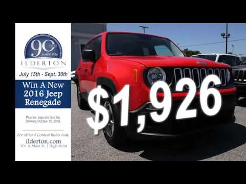 Ilderton Dodge High Point >> 2015 Jeep Compass High Point Greensboro Nc 4119 Youtube