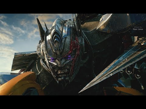 Transformers: The Last Knight (2017) - Nemesis Prime vs Bumblebee  - Only Action [4K]