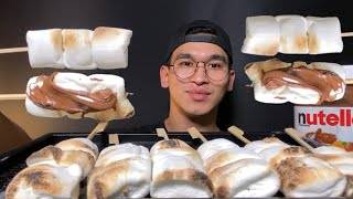 ASMR MARSHMALLOW PARTY COOKING…