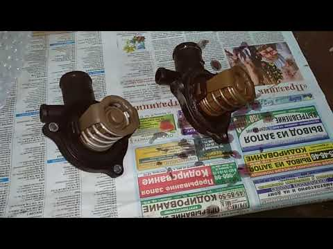 #083 замена помпы и термостата системы охлаждения Audi,Vw